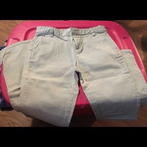 Old navy uniform pants 3 pairs for 10.00